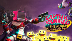 Captain ToonHead vs the Punks from Outer Space Game Sweepstakes