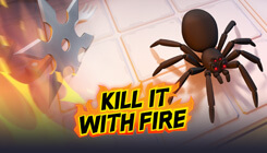 Kill It With Fire Game Sweepstakes